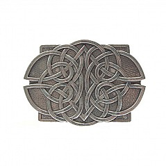 Celtic Lace Belt Buckle