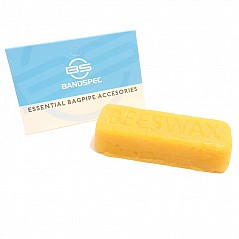 This cob of pure Beeswax is used for the same application as the regular beeswax that we sell. Some people prefer the pure beeswax because it is stickier than the regular wax. Both work well on